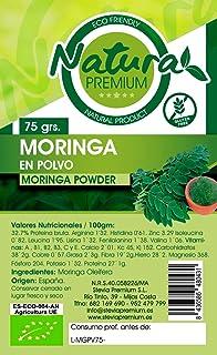 Natura Premium Moringa - Molida En Polvo 75 gR. ECOLOGICO