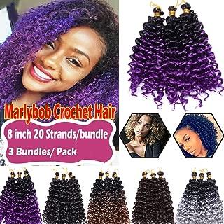 Best purple curly crochet hair Reviews