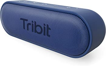 Tribit XSound Go Bluetooth Speakers - 12W Portable Speaker Loud Stereo Sound, Rich Bass, IPX7 Waterproof,24 Hour Playtime, 66 ft Bluetooth Range & Built-in Mic Outdoor Wireless Speaker (Blue)