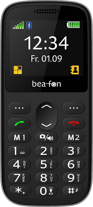 Beafon Schlankes Bartyp Handy Sl350 Schwarz Silber Elektronik