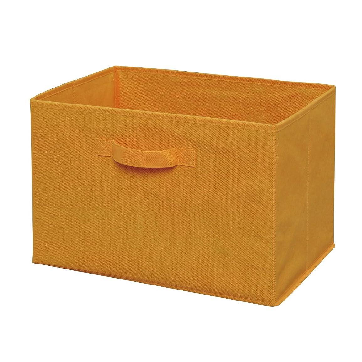 拡大する補正パキスタン人アイリスオーヤマ ボックス インナーボックス オレンジ 幅38.5×奥行27×高さ27㎝ FIB-38