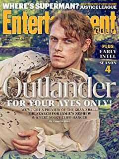 Entertainment Weekly Magazine (November 17, 2017) Outlander Sam Heughan Cover 1 of 3