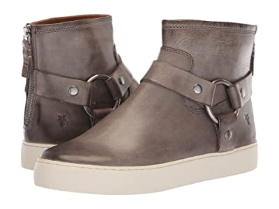 Frye Lena Harness Bootie (Grey Antique Pull Up) Women