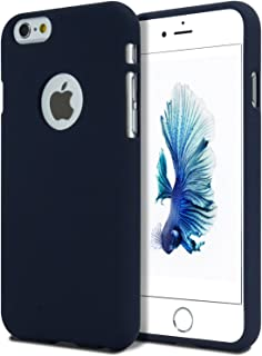 Goospery Soft Feeling Jelly for Apple iPhone 6S Case (2015) iPhone 6 Case (2014) Silky Slim Bumper Cover (Midnight Blue) I...