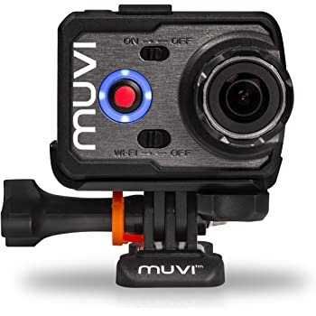 Veho Muvi K-Series K-2 Sport   1080p   HD   WiFi   Camcorder   Action Camera   Sports Camera   Action Cam   12MP Camera   Protective Silicone Case and Carry Case (VCC-006-K2S)