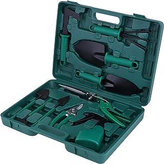 KEESIN Juego de herramientas de mano para jardín, kit de plantación, herramienta de trabajo de jardín, regalo para los ama...