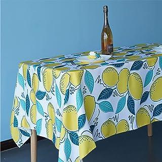 Mantel de poliéster duradero rectangular redondo, mantel de estilo rústico moderno europeo, utilizado para sala de estar, ...