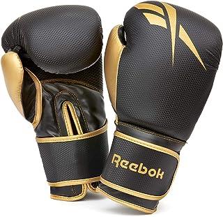 Reebok RSCB-11117GB-10 Boxing Gloves - Gold/Black, 10 oz, One Size