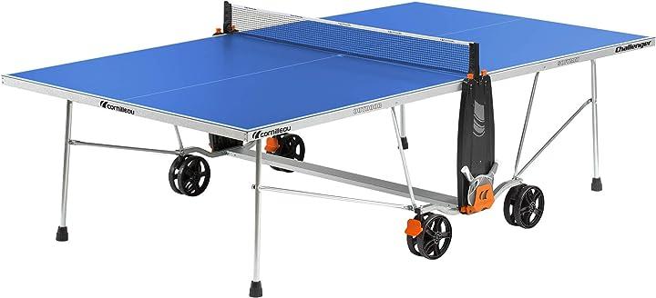 Tavolo da ping pong + imballo sicuro challenger outdoor cornilleau 131845