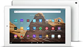 """Fire HD 10 Tablet (10.1"""" 1080p full HD display, 32 GB) – White (2019 Release)"""