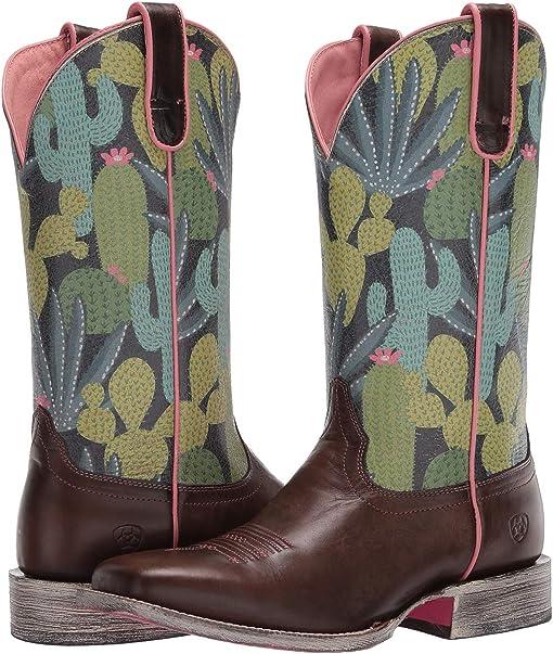 Desert Taupe/Navy Cactus
