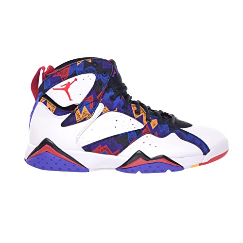 Jordan Air 7 Retro Sweater Mens  Shoes White University Red-Black-Bright 577ad3be1f77