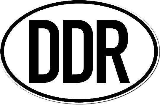 Greenit Aufkleber Sticker Länderkennzeichen Ddr Deutschland Ostdeutschland Auto Pkw Bus Lkw Anhänger Zeichen Symbol 1 Auto