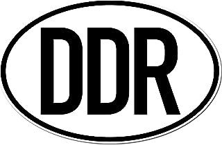 GreenIT Aufkleber Sticker Länderkennzeichen DDR Deutschland