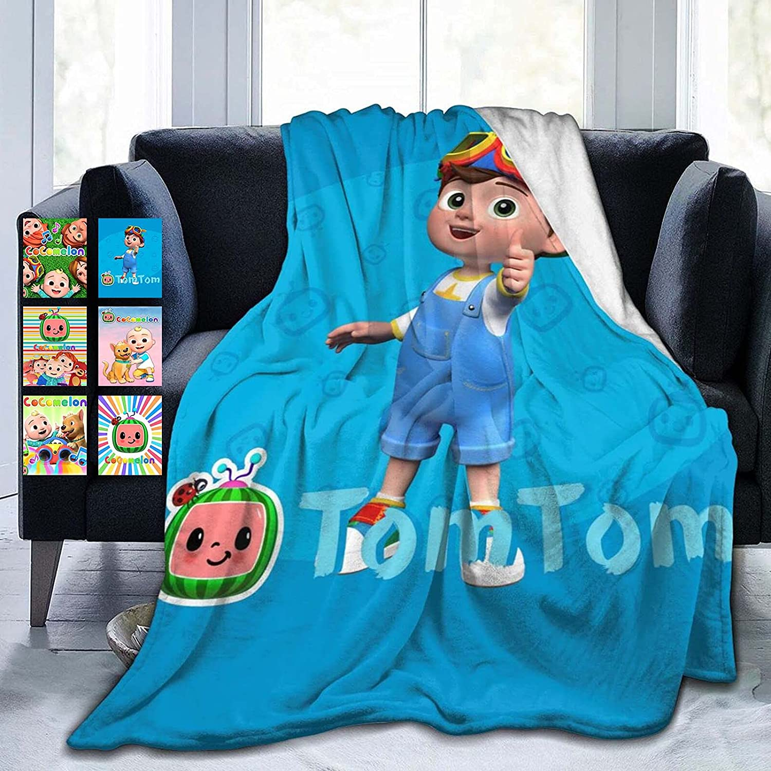 Special Campaign PFTBST 3D Print Cute Baby Blanket Lightweight Gift Girl a Boy Washington Mall or