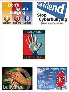 Jaguar Educational Stop Bullying Now Series of 5 Posters Laminated