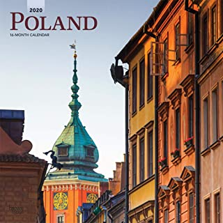 Poland 2020 12 x 12 Inch Monthly Square Wall Calendar, Scenic Travel Europe Warsaw Polish