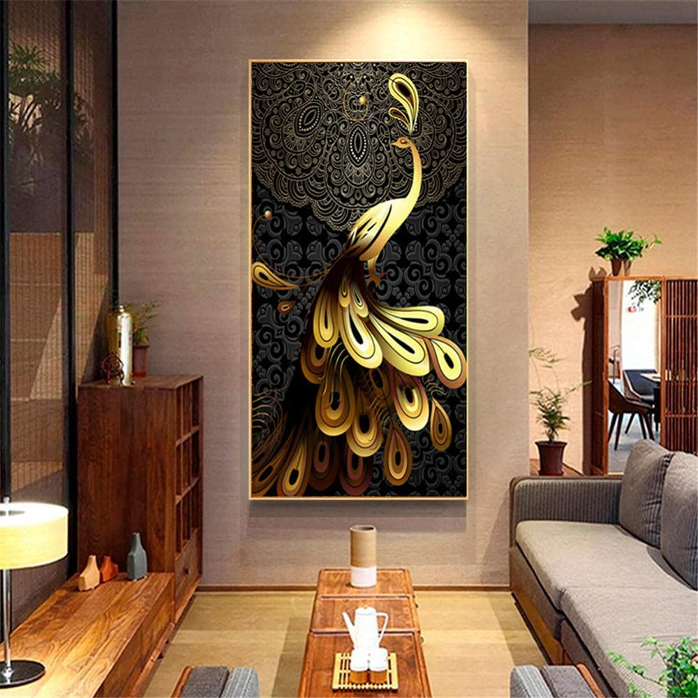 5D DIY Diamond Painting Year-end gift Adults Child Golden Number by Kits Peaco Recommendation