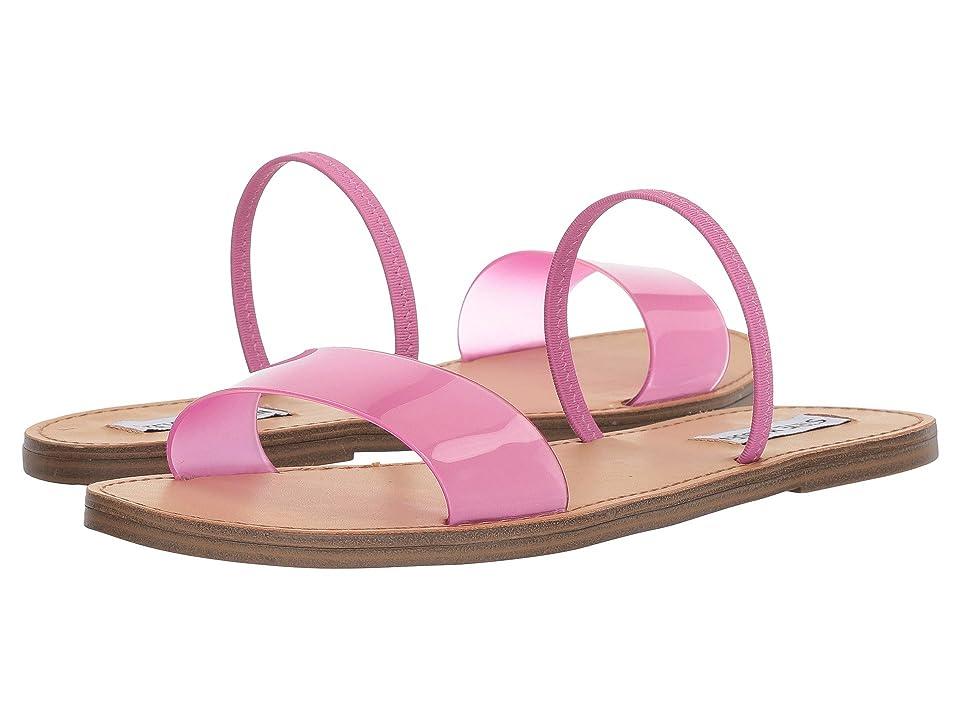 Steve Madden Dasha Flat Sandal (Pink) Women