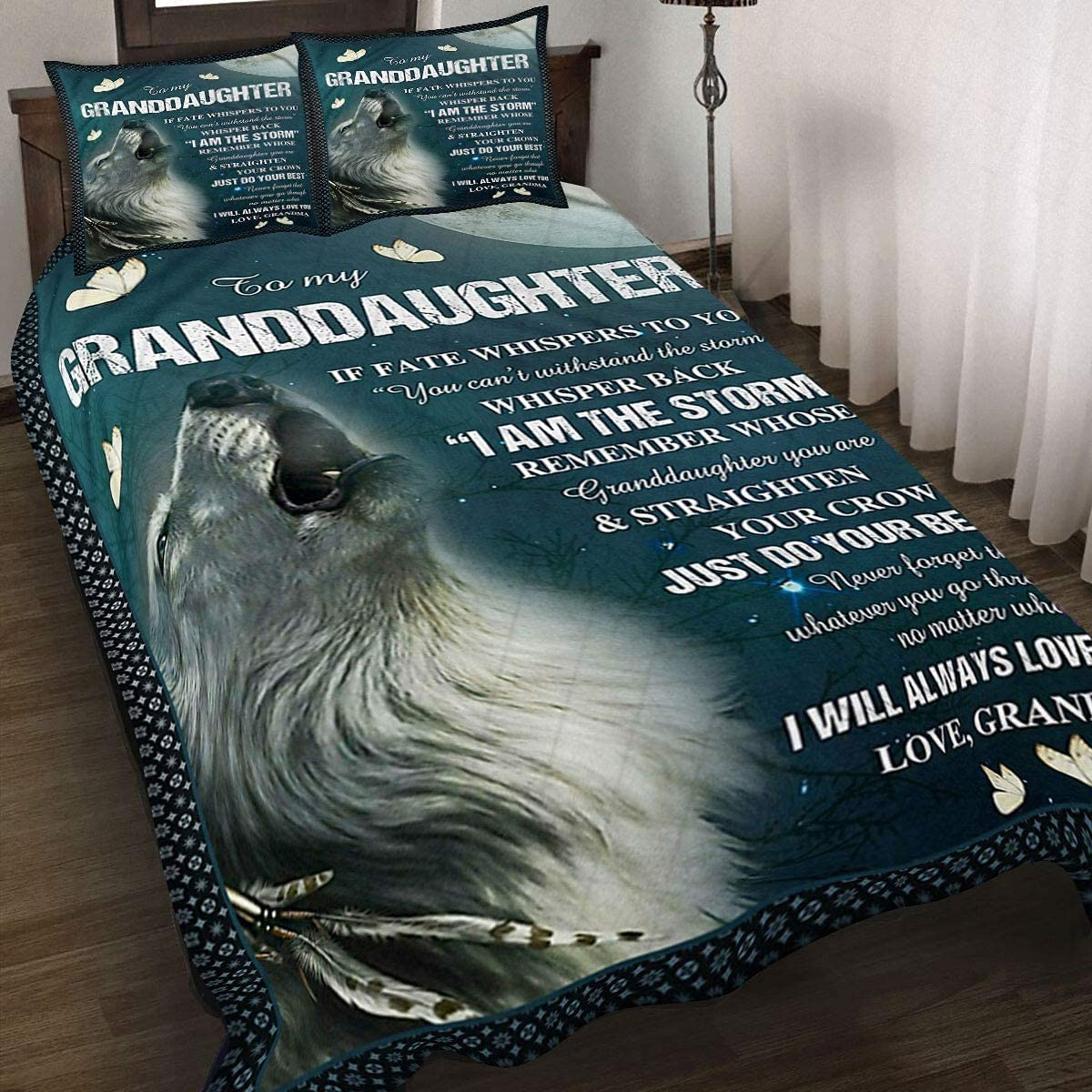 Best Gifts for Granddaughter Sales results No. 1 Quilt Wolf - Set I Max 48% OFF Bedding