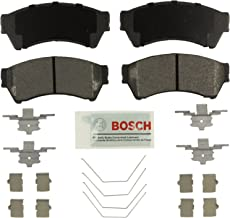 Bosch BE1164H Blue Disc Brake Pad Set with Hardware for Select Ford Fusion; Lincoln MKZ, Zephyr; Mazda 6; and Mercury Milan - FRONT