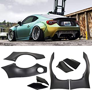 Onemoto Rocket Bunny Style Wide Fender Flare Cover Guards Fit 13-17 Scion FRS Subaru BRZ