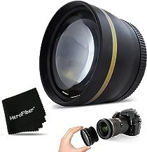 PRO 58mm 2X TELEPHOTO Lens Attachment for All 58mm Lenses and for Canon EOS Rebel T6i T6S T5 T5i T4i T3 T3i T2i T1i EOS M EOS M2 EOS 80D, 70D 60d 60Da 7D 7D Mark II EOS 760D, 750D 700D 650D 600D 550D
