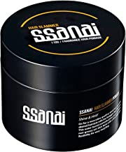 SSANAI Hair Slammer - Men's Hair Styling Pomade 110g 3.7oz Strong Hold and Elegant Shine Water Based Easy Wash Rinse Classic Barber Original Formula for Straight Thick and Curly Hair