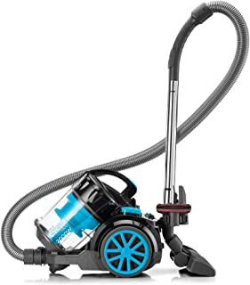 Black+Decker Multi-Cyclonic Bagless Corded Canister Vacuum Cleaner with 6 Stage Filtration, 2000 W Max Power, 2.5 L, 21 kP...
