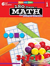180 Days of Math: Grade 1 - Daily Math Practice Workbook for Classroom and Home, Cool and Fun Math, Elementary School Leve...