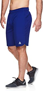 Reebok Men's Lightweight Workout Gym & Running Shorts w/Elastic Drawstring Waistband & Pockets - 9 Inch Inseam