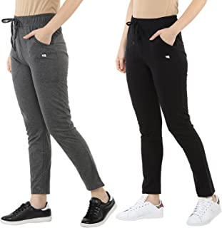 Modeve ® Women's Cotton Track Pants Combo Pack of 2 for Summer