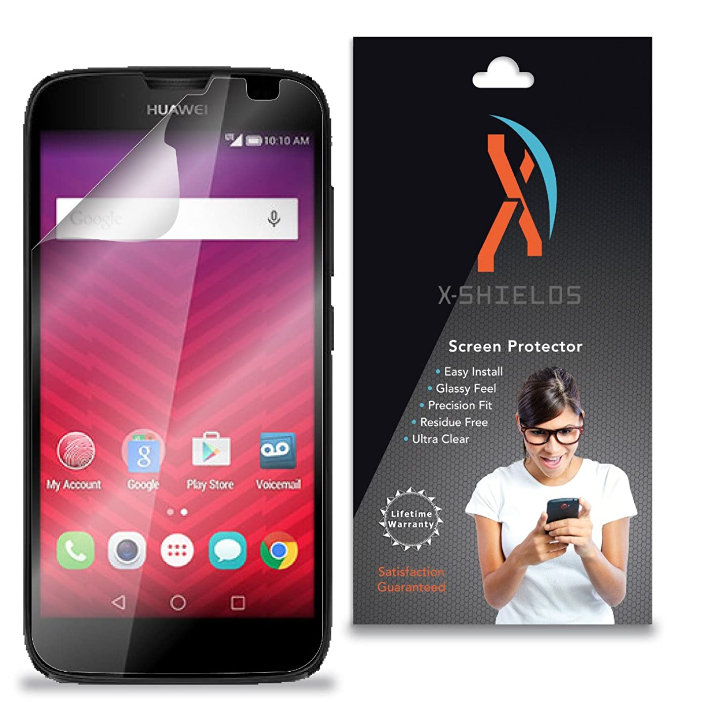 XShields? (5-Pack) Screen Protectors for Huawei Union Y538 (Ultra Clear)