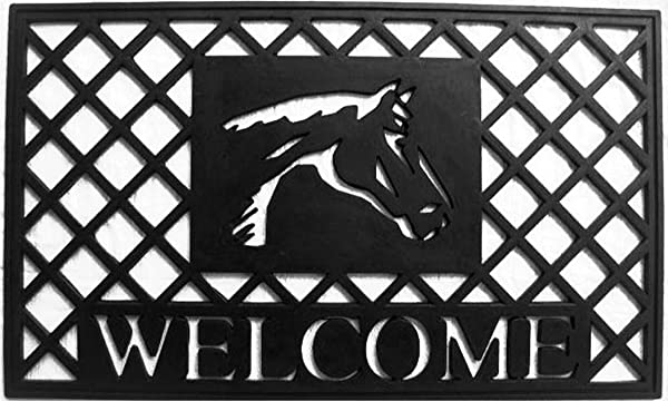 Home More 90005 Natural Rubber Stallion Doormat