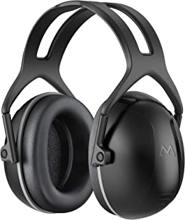 Ear Protection, Hearing Protection for Shooting NRR 28dB Noise Reduction Safety Ear Muffs, Adjustable Ear Defenders for Bl...