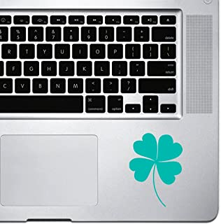 StickAny Palm Series ملصق البرسيم أربع أوراق لأجهزة MacBook Pro وChromebook وأجهزة الكمبيوتر المحمولة (تركواز)