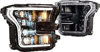 Morimoto XB LED Plug & Play Headlight Assemblies For 2015-2017 Ford F-150 LF502 LF504 (White DRL (For OEM Halogen))