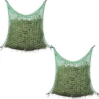 Filet /à Foin en Nylon Tiss/é Approvisionnement pour Cheval DEDC Sac /à Foin /à Alimentation Lente Adapt/é /à Animaux de Foin Alimentation 60x90 cm