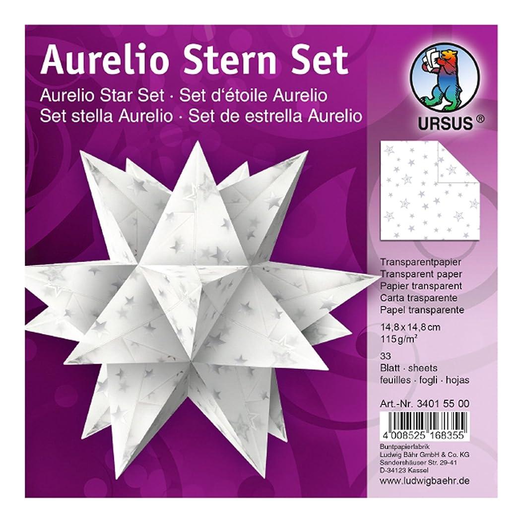 Ursus Aurelio Star 34015500?–?Folding Tracing Paper 14.8?x 14.8?cm, White