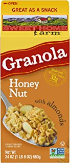 Sweet Home Farm Honey Nut with Almonds Granola, Made with Whole Grain, Non-GMO Project Verified, Kosher, Vegan, 24 Oz Recy...