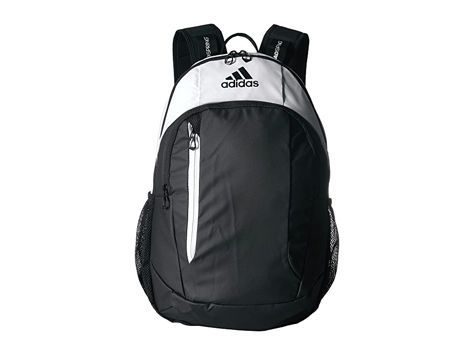 adidas Mission Plus Backpack (Black/Neo White) Backpack Bags