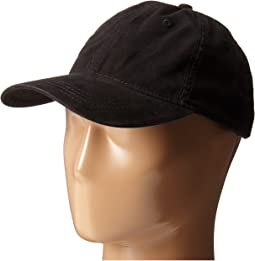 San Diego Hat Company - CTH4153 Washed Ball Cap with Adjustable Leather Back