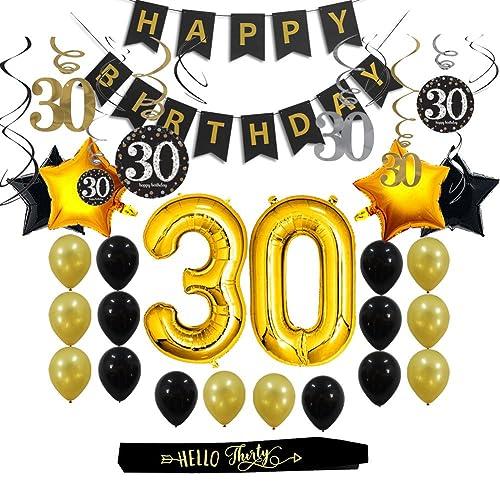 30th Party Supplies Amazon