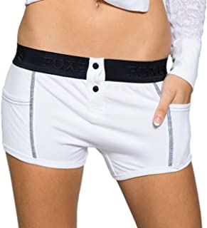 Tomboy Style Women's Boxer Briefs with Side Pockets   XS-XXL