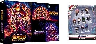 【Amazon.co.jp限定】アベンジャーズ/エンドゲーム&インフィニティ・ウォー MovieNEXセット [ブルーレイ+DVD+デジタルコピー+MovieNEXワールド](オリジナルミニコスベイビー10体セット付き) [Blu-ray]