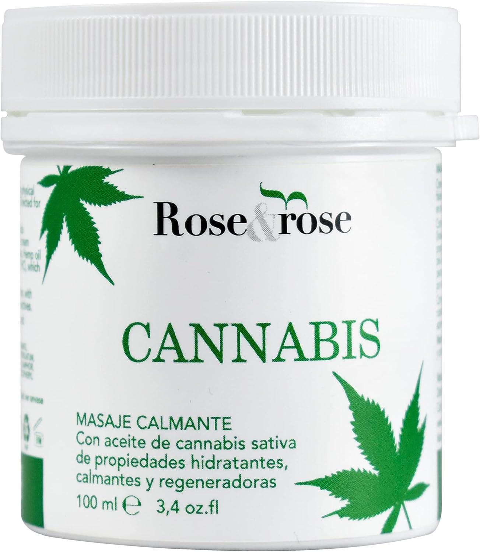 Crema Masaje Calmante de Cannabis