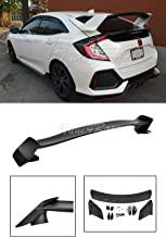 Extreme Online Store EOS Body Kit Rear Wing Spoiler - for Honda Civic Hatchback 16-Up 2016 2017 2018 Type R Style
