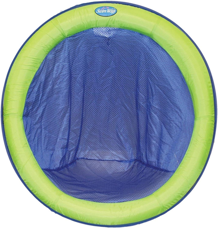 calidad garantizada Swimways Spring Float Papasan - azul Lime by by by SwimWays  Sin impuestos