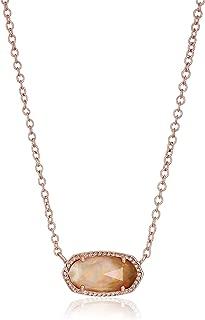 Kendra Scott Signature Elisa Rose Gold Plated Necklace