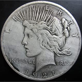 BeiQian Best Morgan Silver Dollars-(1804-1926) Coin Collecting-Silver Dollar USA Old Original Pre Morgan Dollar goodService 1921
